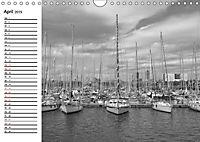 Barcelona Schwarz / Weiß Impressionen (Wandkalender 2019 DIN A4 quer) - Produktdetailbild 4