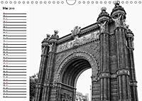 Barcelona Schwarz / Weiß Impressionen (Wandkalender 2019 DIN A4 quer) - Produktdetailbild 5