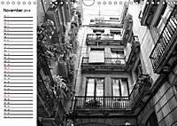 Barcelona Schwarz / Weiß Impressionen (Wandkalender 2019 DIN A4 quer) - Produktdetailbild 11