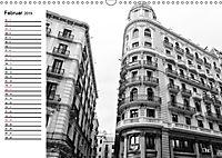 Barcelona Schwarz / Weiß Impressionen (Wandkalender 2019 DIN A3 quer) - Produktdetailbild 2