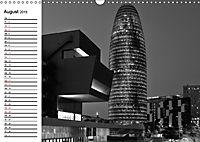 Barcelona Schwarz / Weiß Impressionen (Wandkalender 2019 DIN A3 quer) - Produktdetailbild 8