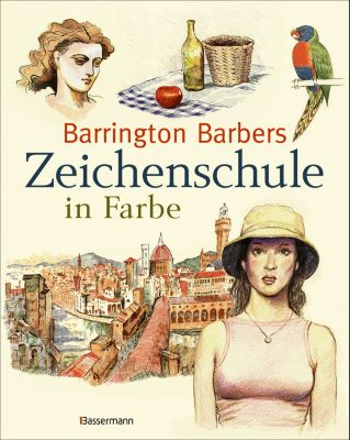 Barrington Barbers Zeichenschule in Farbe, Barrington Barber