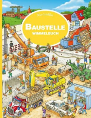 Baustelle Wimmelbuch, Max Walther