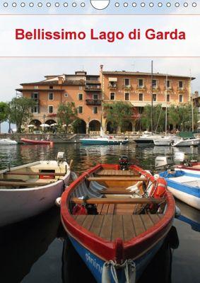 Bellissimo Lago di Garda (Wandkalender 2018 DIN A4 hoch), Monika Dietsch