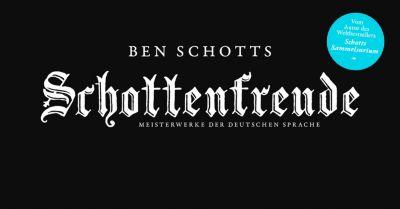 Ben Schotts Schottenfreude, Ben Schott