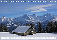 Bergblicke der Schweiz (Tischkalender 2018 DIN A5 quer) - Produktdetailbild 1