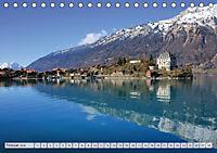 Bergblicke der Schweiz (Tischkalender 2018 DIN A5 quer) - Produktdetailbild 2