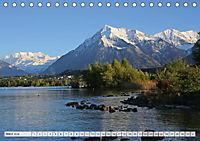 Bergblicke der Schweiz (Tischkalender 2018 DIN A5 quer) - Produktdetailbild 3