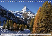 Bergblicke der Schweiz (Tischkalender 2018 DIN A5 quer) - Produktdetailbild 11