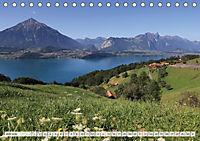 Bergblicke der Schweiz (Tischkalender 2018 DIN A5 quer) - Produktdetailbild 7
