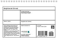 Bergblicke der Schweiz (Tischkalender 2018 DIN A5 quer) - Produktdetailbild 13