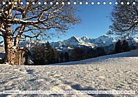 Bergblicke der Schweiz (Tischkalender 2018 DIN A5 quer) - Produktdetailbild 12