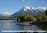 Bergblicke der Schweiz (Wandkalender 2018 DIN A2 quer) - Produktdetailbild 3