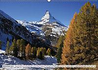 Bergblicke der Schweiz (Wandkalender 2018 DIN A2 quer) - Produktdetailbild 11