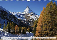 Bergblicke der Schweiz (Wandkalender 2018 DIN A3 quer) - Produktdetailbild 11