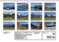 Bergblicke der Schweiz (Wandkalender 2018 DIN A3 quer) - Produktdetailbild 13