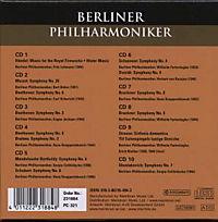 Berliner Philharmoniker, 10 CDs - Produktdetailbild 1