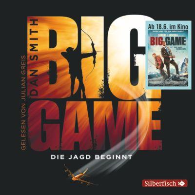 Big Game - Die Jagd beginnt, 6 Audio-CDs, Dan Smith