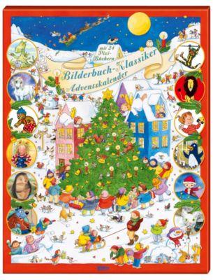 Bilderbuch-Klassiker Adventskalender, Markus Osterwalder, Nele Moost, Janosch, Jörg Hilbert