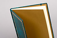 Blank Book Lederlook blau (groß) - Produktdetailbild 1