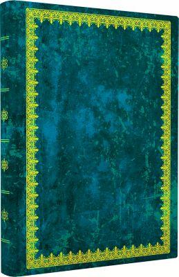 Blank Book Lederlook blau (groß), Anaconda