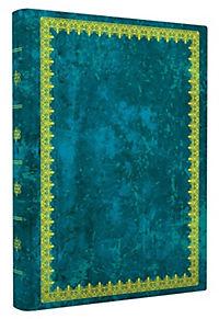 Blank Book Lederlook blau (klein) - Produktdetailbild 1
