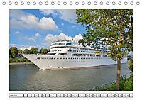 Blaues Band - Kreuzfahrtschiffe (Tischkalender 2018 DIN A5 quer) - Produktdetailbild 6