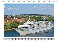 Blaues Band - Kreuzfahrtschiffe (Tischkalender 2018 DIN A5 quer) - Produktdetailbild 5