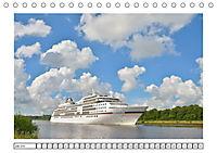 Blaues Band - Kreuzfahrtschiffe (Tischkalender 2018 DIN A5 quer) - Produktdetailbild 7