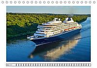 Blaues Band - Kreuzfahrtschiffe (Tischkalender 2018 DIN A5 quer) - Produktdetailbild 3