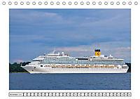 Blaues Band - Kreuzfahrtschiffe (Tischkalender 2018 DIN A5 quer) - Produktdetailbild 11