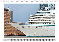 Blaues Band - Kreuzfahrtschiffe (Tischkalender 2018 DIN A5 quer) - Produktdetailbild 12