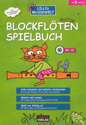 Blockflöten-Spielbuch, mit CD