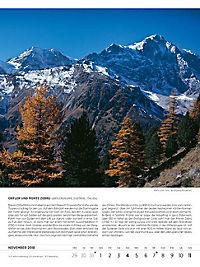 Blodigs Alpenkalender 2018 - Produktdetailbild 15