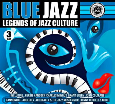 Blue Jazz, 3 CDs, Diverse Interpreten
