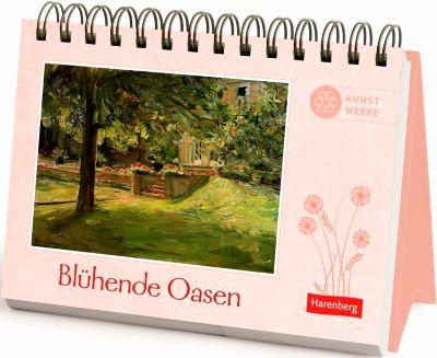 Blühende Oasen Geschenkbuch, Aufstellbuch