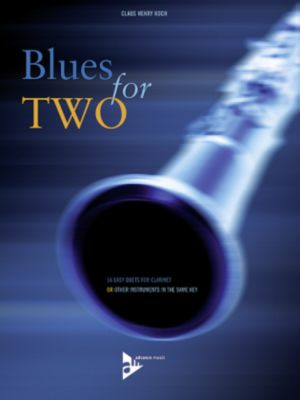 Blues For Two, 2 clarinets, Claus Henry Koch