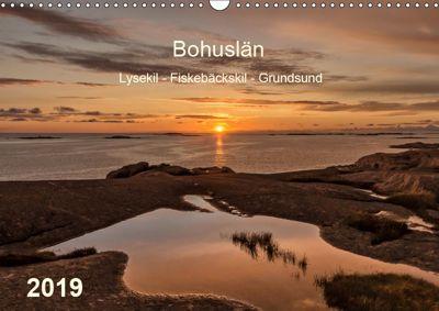 Bohuslän. Lysekil - Fiskebäckskil - Grundsund (Wandkalender 2019 DIN A3 quer), Klaus Kolfenbach