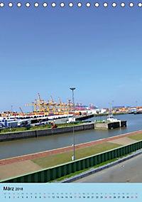 BREMERHAVEN die Seestadt mit maritimen Flair - 2018 (Tischkalender 2018 DIN A5 hoch) - Produktdetailbild 3