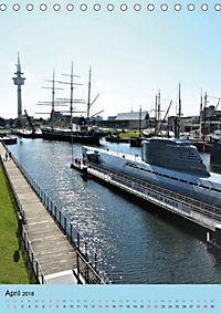 BREMERHAVEN die Seestadt mit maritimen Flair - 2018 (Tischkalender 2018 DIN A5 hoch) - Produktdetailbild 4