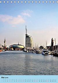 BREMERHAVEN die Seestadt mit maritimen Flair - 2018 (Tischkalender 2018 DIN A5 hoch) - Produktdetailbild 5