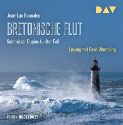 Bretonische Flut, 10 Audio-CDs, Jean-Luc Bannalec