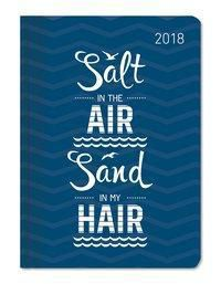 Buchkalender Mini Style Salty Air 2018, ALPHA EDITION