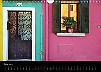 Burano - Insel in ihrem Farbenspiel (Wandkalender 2018 DIN A4 quer) - Produktdetailbild 5