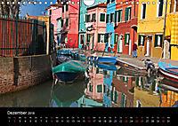 Burano - Insel in ihrem Farbenspiel (Wandkalender 2018 DIN A4 quer) - Produktdetailbild 12