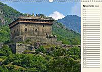 Burgen im Aostatal (Wandkalender 2018 DIN A3 quer) - Produktdetailbild 11