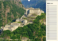 Burgen im Aostatal (Wandkalender 2018 DIN A3 quer) - Produktdetailbild 3