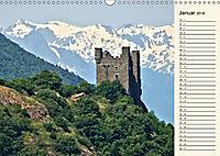 Burgen im Aostatal (Wandkalender 2018 DIN A3 quer) - Produktdetailbild 1