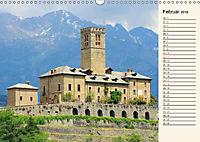 Burgen im Aostatal (Wandkalender 2018 DIN A3 quer) - Produktdetailbild 2