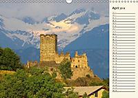 Burgen im Aostatal (Wandkalender 2018 DIN A3 quer) - Produktdetailbild 4